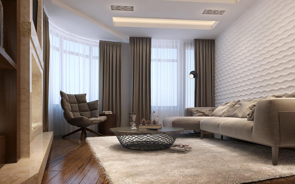 3D návrh obývačky (online) Interiér Snov