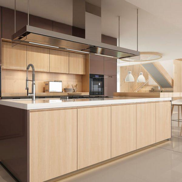 3D návrh kuchyne (3D vizualizácia kuchyne) Bratislava Interiér Snov