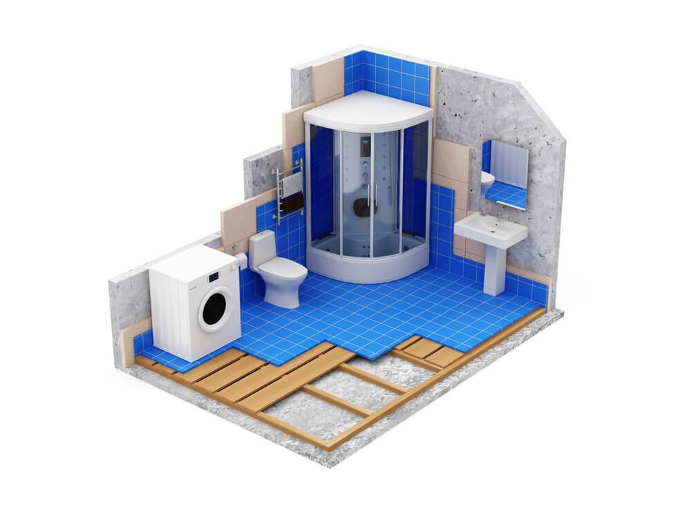 Malé kúpeľne návrhy (online) Bratislava Interiér Snov