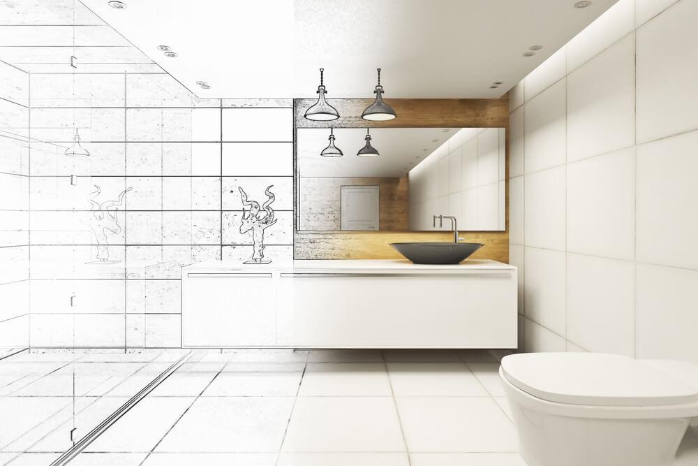 Návrh kúpeľne obkladačky (online) Bratislava Interiér Snov
